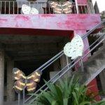 【台湾南投県】超でかい蝶がいるバタフライ寺院「鎮南宮」(他)