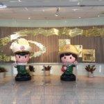 台湾、緑色でおなじみの「郵政博物館」